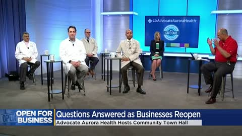 Advocate Aurora Health holds town hall to answer COVID-19 questions